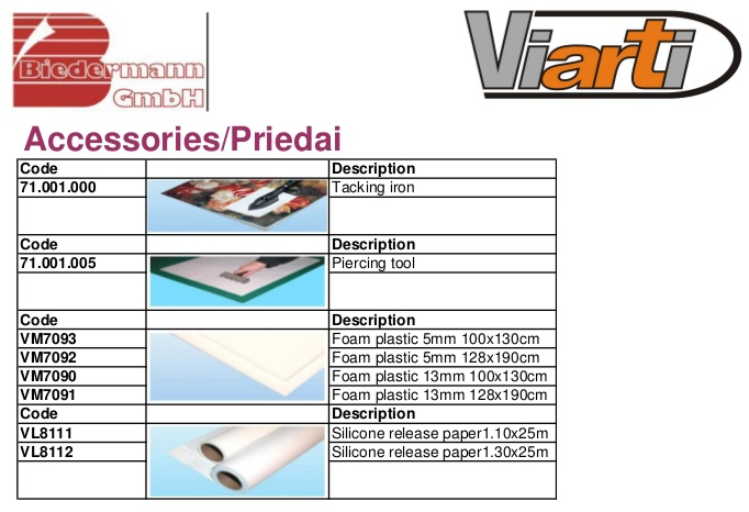 Laminators, laminating films 2/7