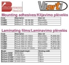 Laminators, laminating films 4/7